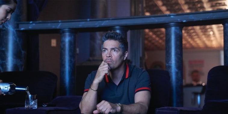 """Actor Esai Morales plays """"Adalberto"""" in the film Superfly."""