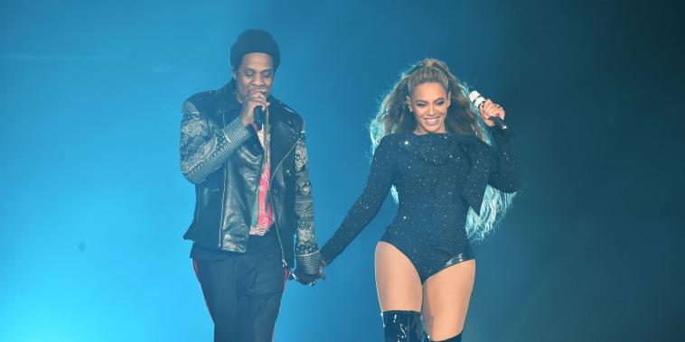 """Image: Beyonce and Jay-Z """"On the Run II"""" Tour - Glasgow"""