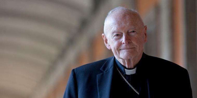 Cardinal Theodore Edgar McCarrick in Rome in 2013.