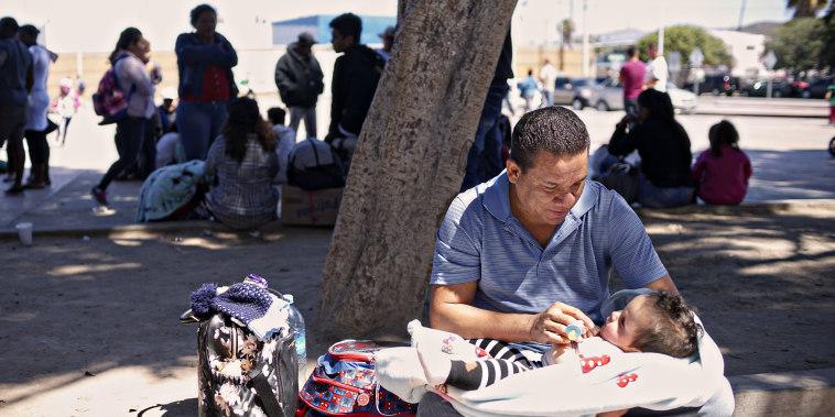 Image: Undocumented Migrants Await Asylum Hearings in Tijuana