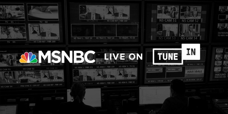 Stay up-to-date wherever you are with MSNBC's free audio live stream