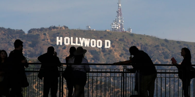 Image: Hollywood sign in 2016