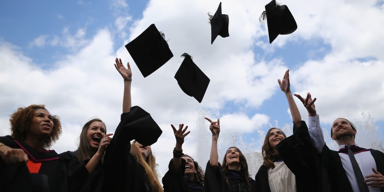Image: Graduates Celebrate On The Southbank