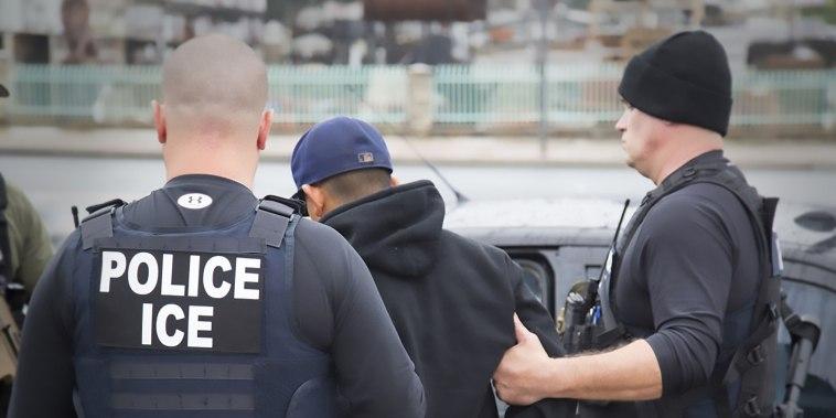 Image: Immigration ICE Raids, Los Angeles Arrest