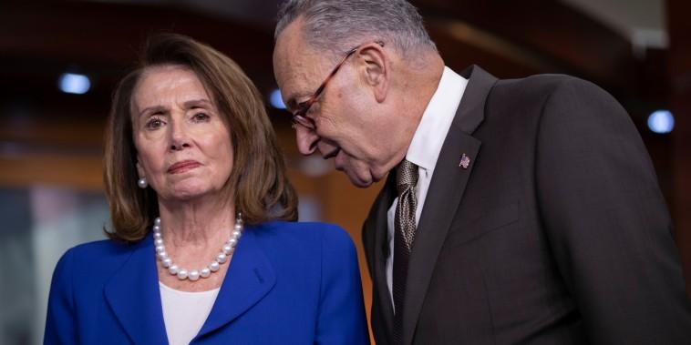 Image: Nancy Pelosi and Chuck Schumer