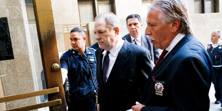 Image: Harvey Weinstein arrives to court in New York