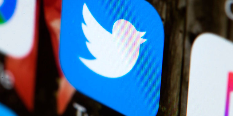 Image: The Twitter app on a mobile phone
