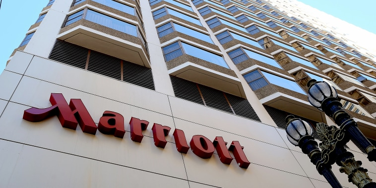 Image: A Marriott hotel on Nov. 16, 2015 in San Francisco.