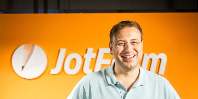 Aytekin Tank, JotForm founder and CEO, says too many people waste time on busy work.