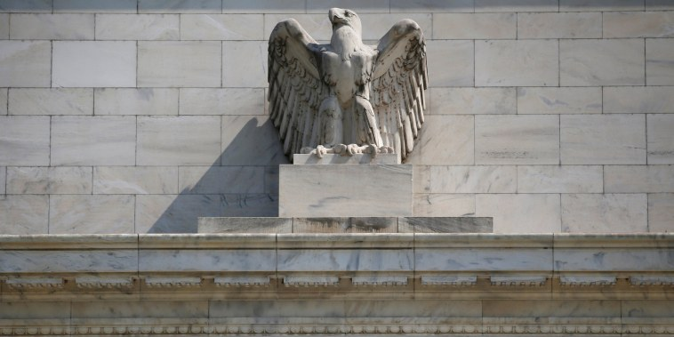 Image: FILE PHOTO: Federal Reserve building in Washington