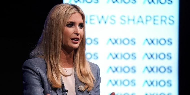 Image: Ivanka Trump Axios