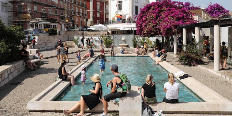 Image: Portugal heatwave