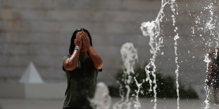 Image: Lisbon heat wave