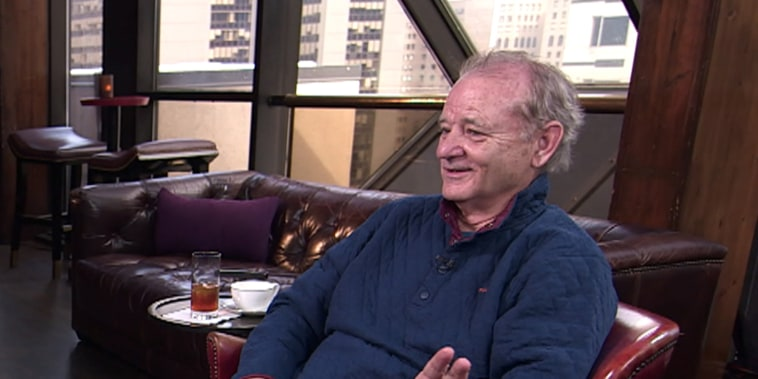 Bill Murray has become an urban folk hero with his viral encounters