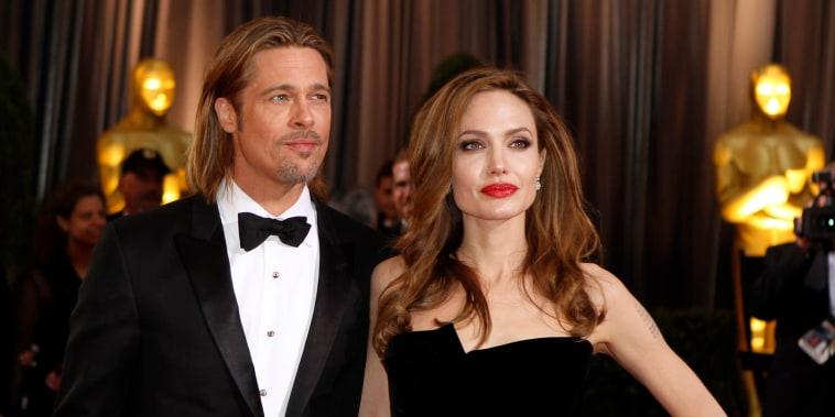 Image: Brad Pitt and Angelina Jolie