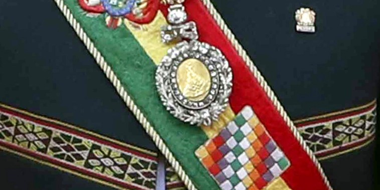 Image: The stolen presidential regalia