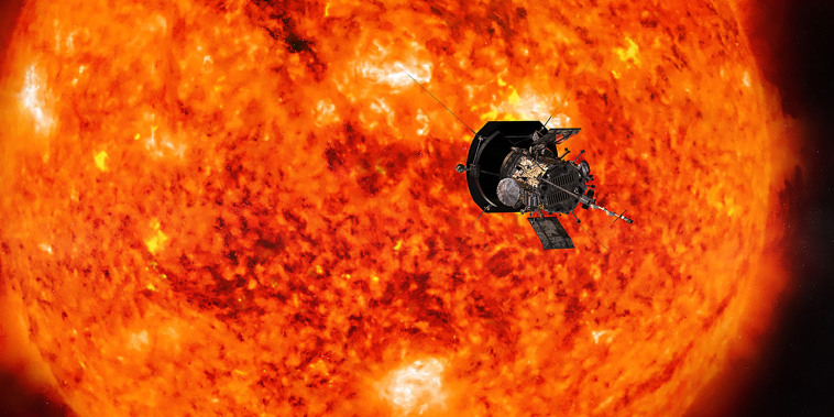 NASA's Parker Solar Probe will fly through the sun's corona to trace how energy and heat move through the stars atmosphere.