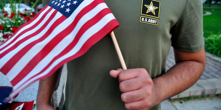 Image: Immigrant recruits