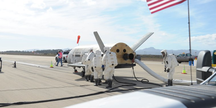 Air Force  X-37B Orbital Test Vehicle mission.