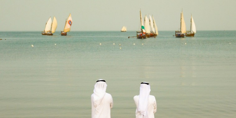 Image: Pearl diving festival in Kuwait