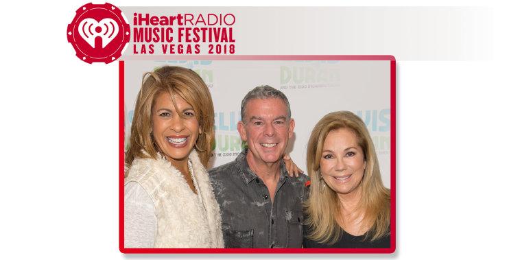 Elvis Duran with Kathie Lee and Hoda