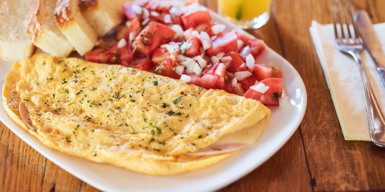 Martha Stewart's Herb-Filled Omelet Recipe