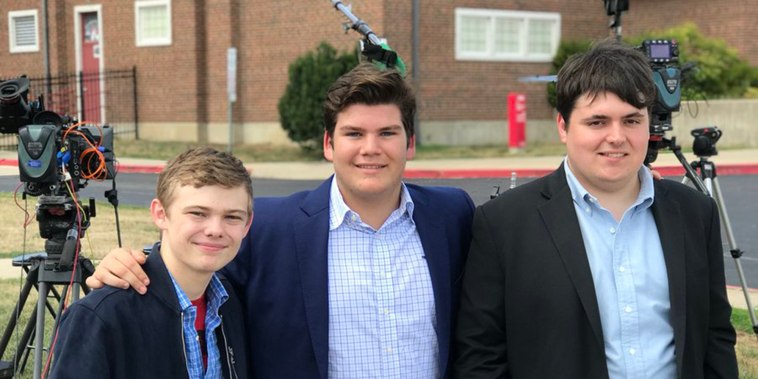 Meet 3 teens too young to vote who are running for governor in Kansas