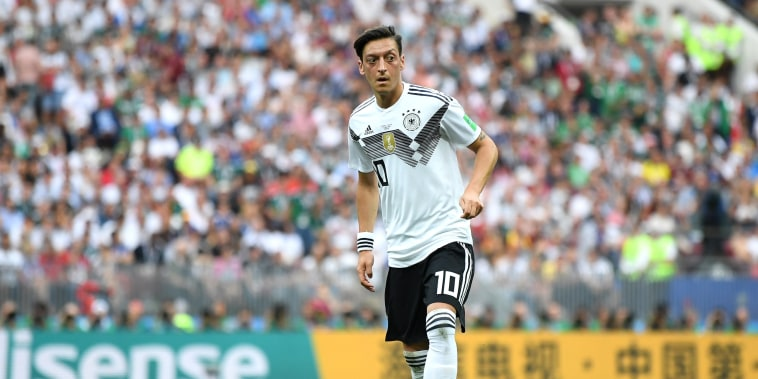 Image: Mesut Ozil plays for Germany