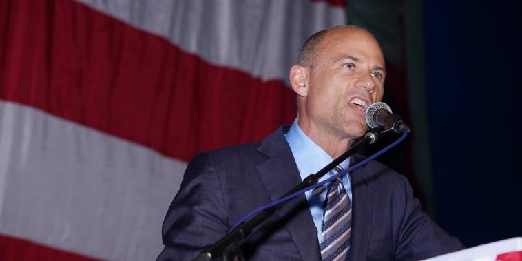 Image: Michael Avenatti attends the Iowa Democratic Wing Ding in Clear Lake Iowa