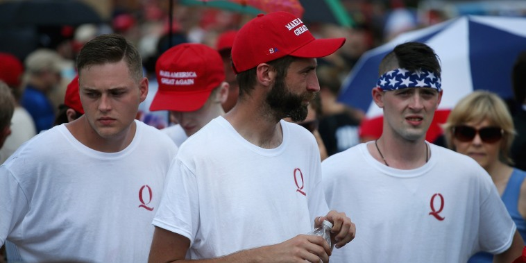 Image: Trump supporters attend a rally in Lewis Center, Ohio