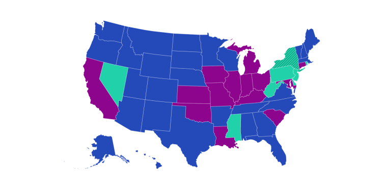 Sports betting state by state