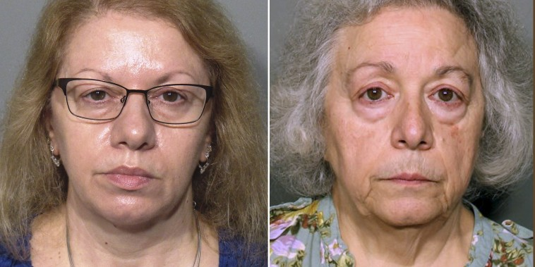 Joanne Pascarelli and sister Marie Wilson who had stolen Cafeteria money.