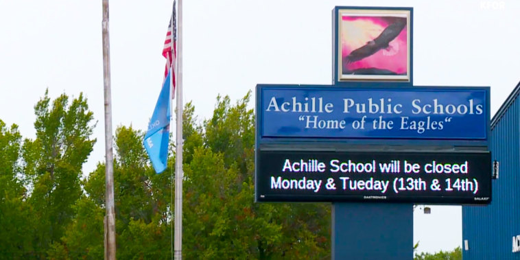 Oklahoma schools close after adults threaten transgender student