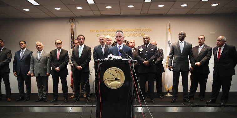 Image: Chicago DEA And Mexican Officials Announce New Initiative Targeting Mexican Drug Trade In Chicago