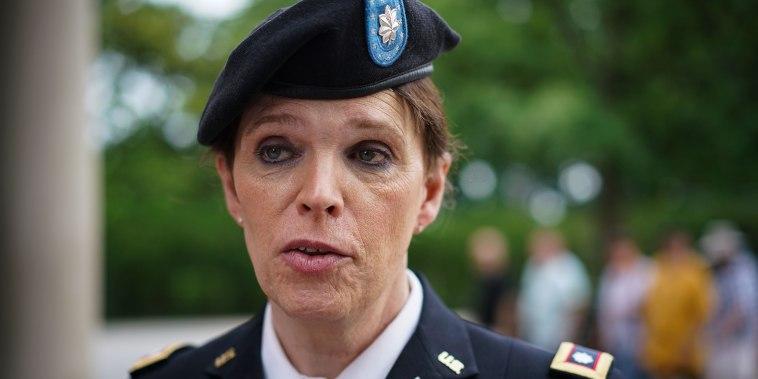 Ann Murdoch Transgender American Veteran