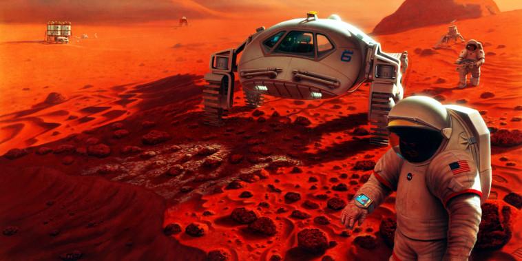 Image: Mars exploration
