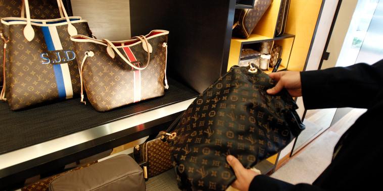 Image: A fake Louis Vuitton handbag