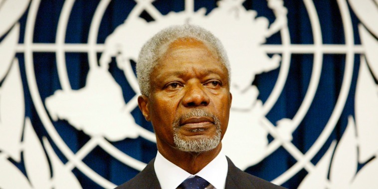 Image: Former UN Secretary General Kofi Annan dead at 80