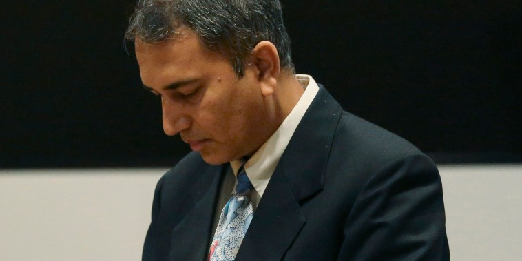 Dr. Shafeeq Sheikh awaits his sentencing at Harris County Family Law Center in Houston