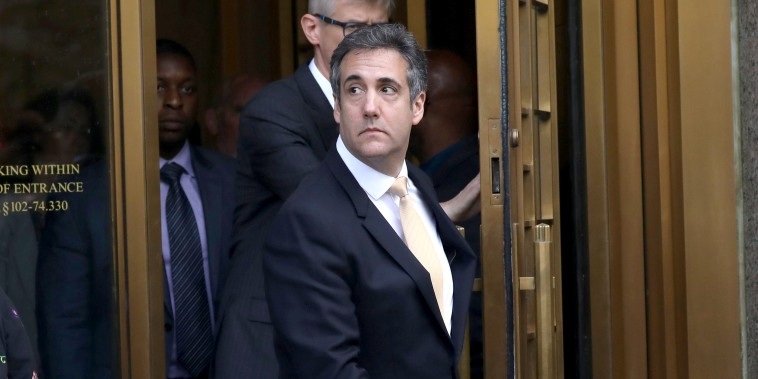 Image: U.S. President Donald Trump's former lawyer, Michael Cohen, leaves federal court in New York City