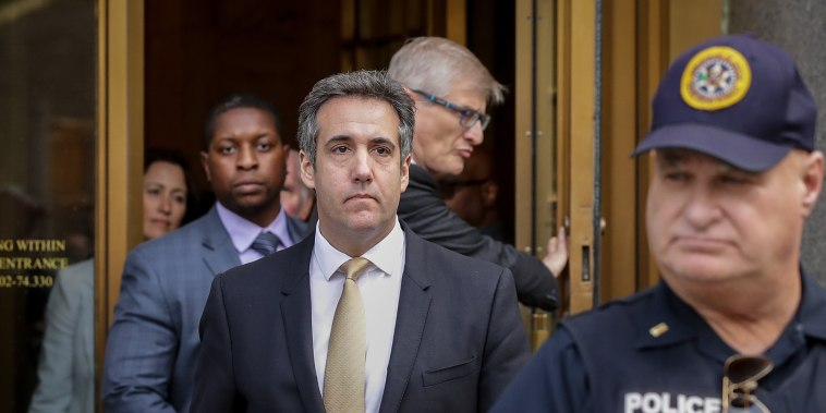 Image: Former Trump Lawyer Michael Cohen Enters Plea Deal Over Tax And Bank Fraud And Campaign Finance Violations