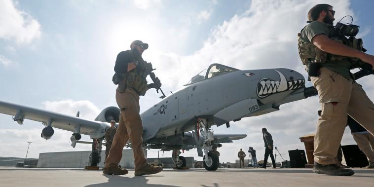 Image: Kandahar air base