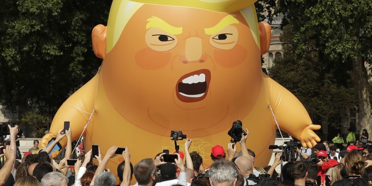 Image: Donald Trump Blimp
