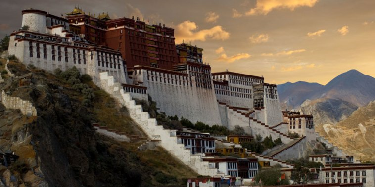 Image: Potala Palace in Lhasa, Tibet
