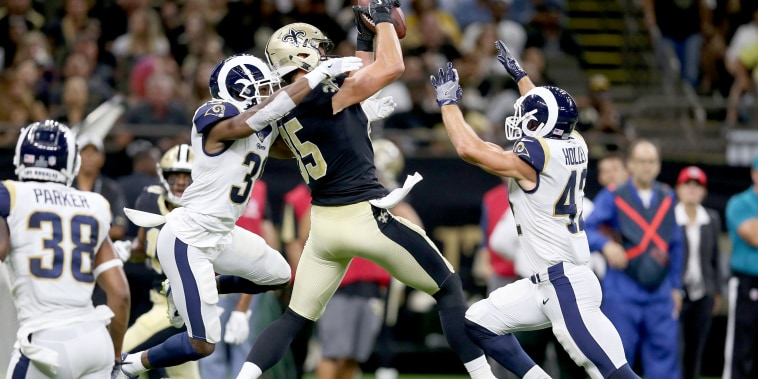 Image: NFL: Los Angeles Rams at New Orleans Saints