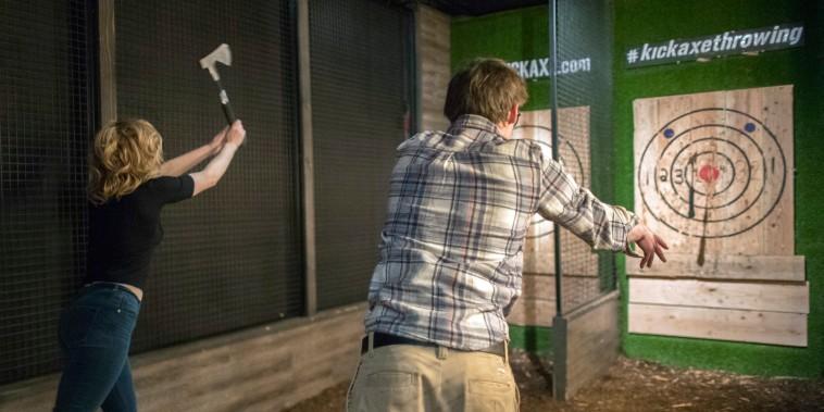Image: Kick Axe Throwing