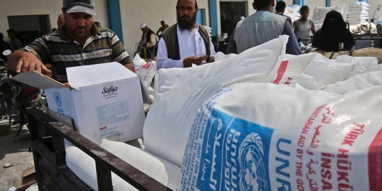 Image: Rafah refugee camp