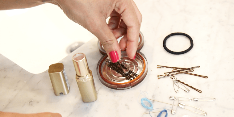Beauty container hacks