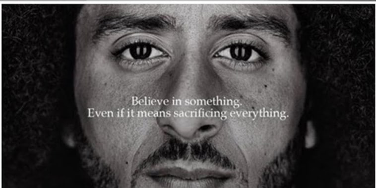"Image: Colin Kaepernick ""Just Do It"" Nike ad"