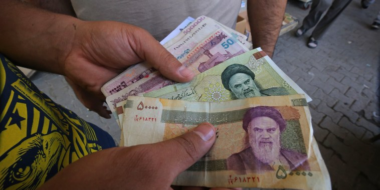 Image: IRAQ-IRAN-US-DIPLOMACY-ECONOMY